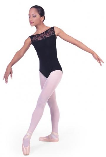 Girls ballet leotard with lace Teresa