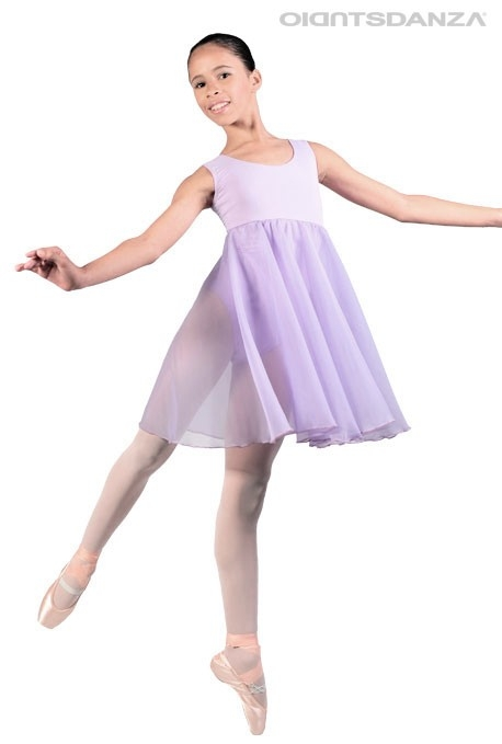 Teen Ballet Empire Dress C2804