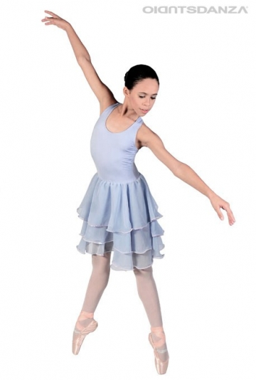 Ballet sleeveless dress C2808