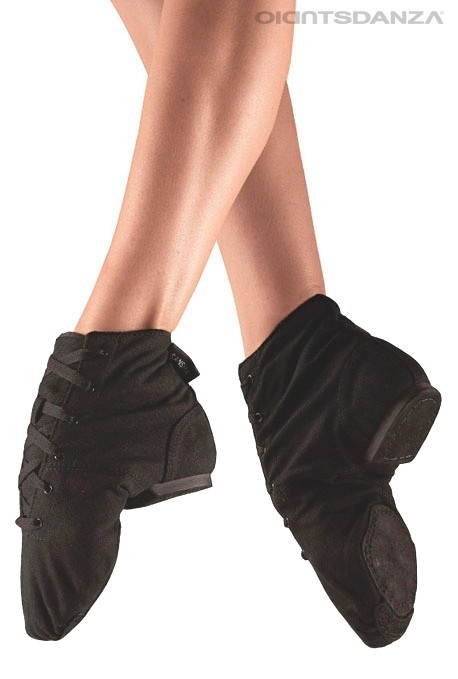 Sansha canvas boot split sole jazz shoes f10cd9cf5ff