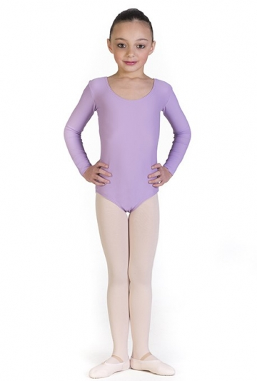 Dance long sleeve leotard for girls Ines