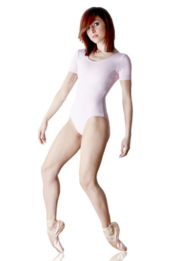 Short sleeve ballet leotard Julie