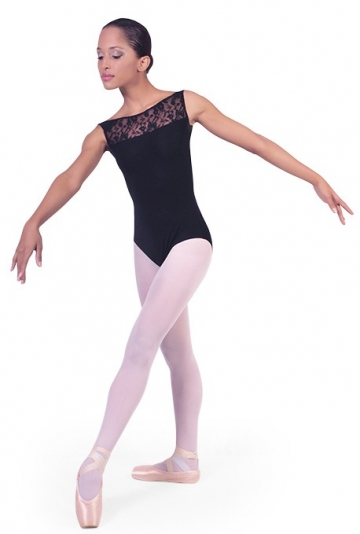 Girls ballet leotard with lace Teresa