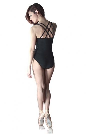 Double Strap Cross Back Leotard for woman Marylis