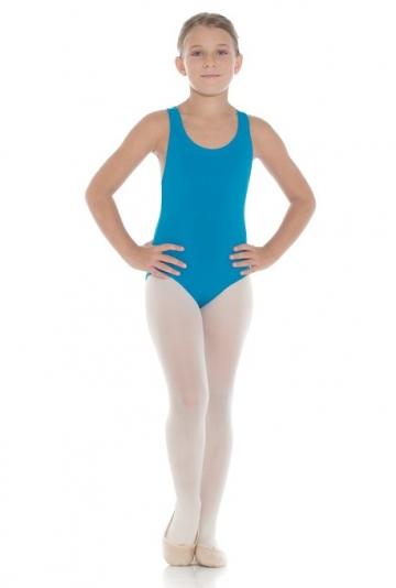 Thick strap back cross ballet leotard for children Ingrid