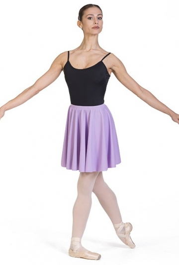 Circle lycra or cotton dance skirt F405