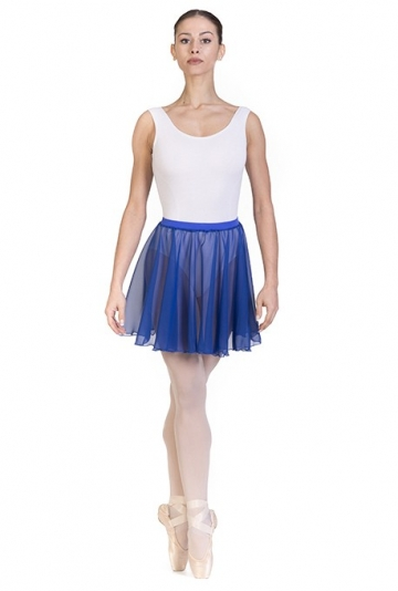 Circle chiffon dance skirt F406