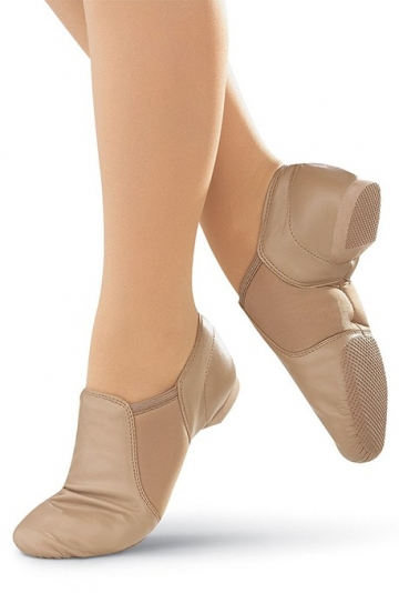 Split sole jazz shoes JT1 TAN