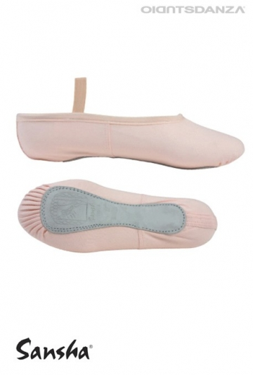 Sanha tutu 4C canvas full sole ballet shoes