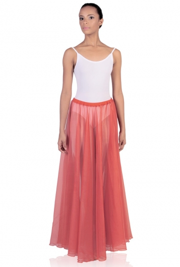 Long voile dance skirt C2923