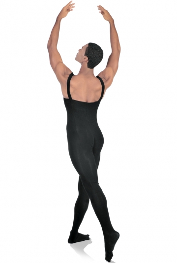 Footed male unitard for dance M910