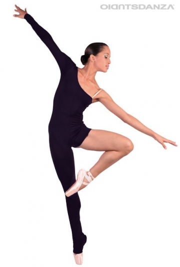 Asymmetrical dance unitard JZ112