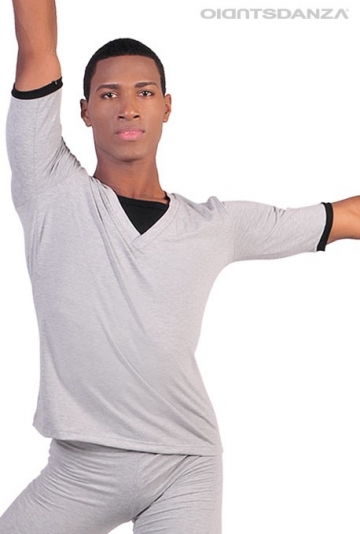 Men's dance top M905TS